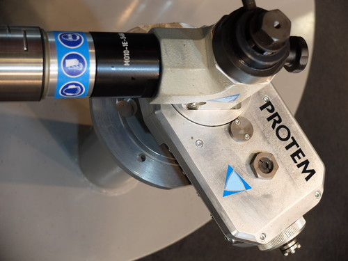 US25CH-ACC - Beveling machine for flange machining
